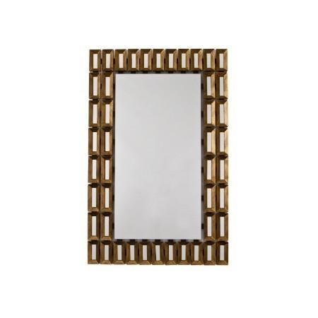 RV Astley Tuscony, Distressed Gold Leaf Finish Mirror