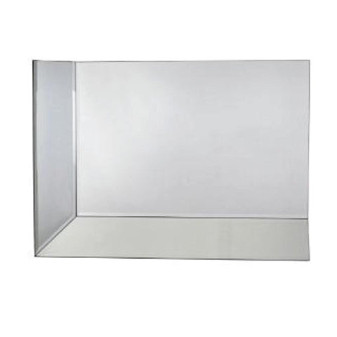 Rectangle Mirrored Corner Piece A 90 x65cm