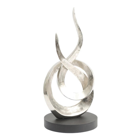 Libra Entwined Flame Sculpture