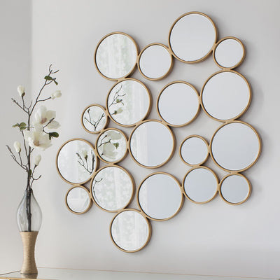 Gallery Camilla Gold Circles Mirror-GalleryDirect-Olivia's