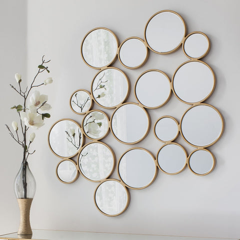Gallery Camilla Gold Circles Mirror