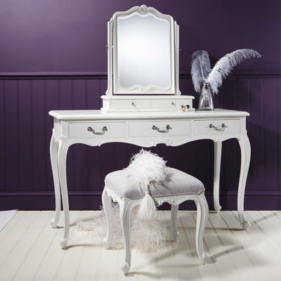 Gallery Chic Dressing Table in Off White-GalleryDirect-Olivia's