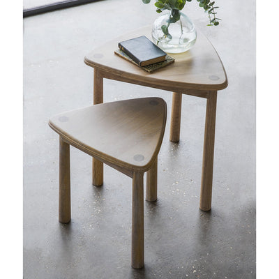 Hudson Living Wycombe Nest Of 2 Tables-GalleryDirect-Olivia's