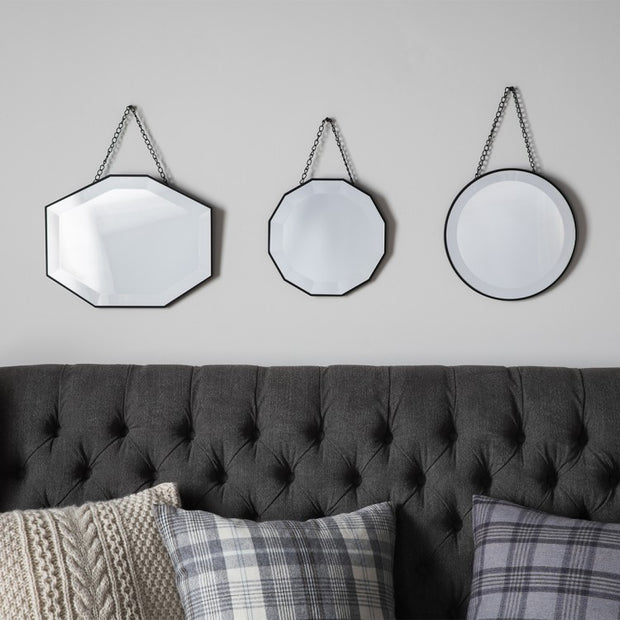 Haines Scatter Set Of Three Mirrors