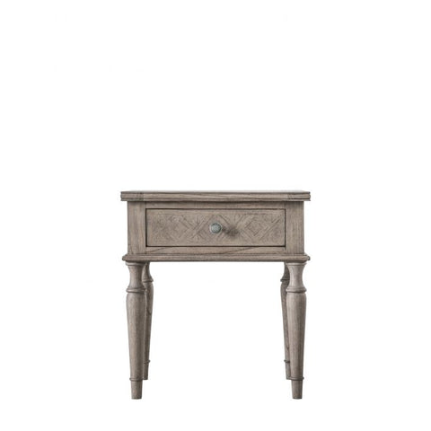 Gallery Mustique 1 Drawer Side Table