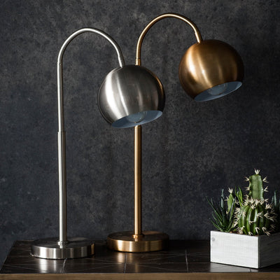 Gallery Dallas Arched Table Lamp in Bronze