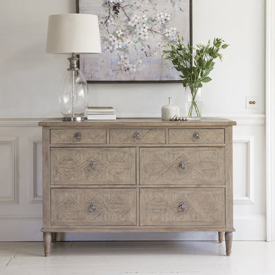 Gallery Mustique 7 Drawer Chest-GalleryDirect-Olivia's