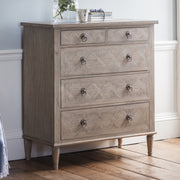 Gallery Mustique 5 Drawer Chest-GalleryDirect-Olivia's