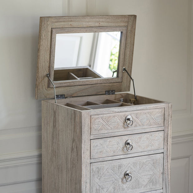 Gallery Mustique 5 Drawer Lingerie Chest-GalleryDirect-Olivia's