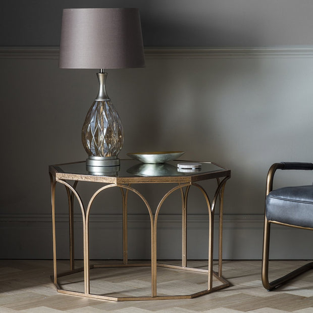 Gallery Canterbury Coffee Table in Antique Gold-GalleryDirect-Olivia's