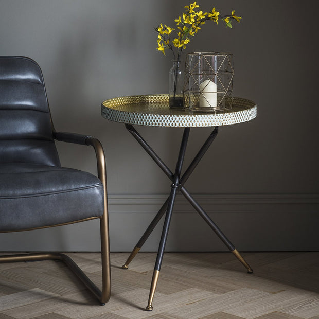 UNAVAILABLE DUE TO QUALITY - Gallery Epsom Tripod Table-GalleryDirect-Olivia's