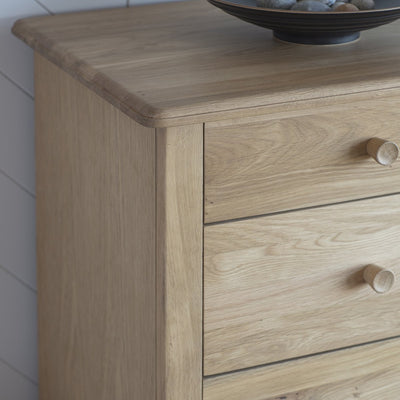 Gallery Wycombe 5 Drawer Chest-GalleryDirect-Olivia's