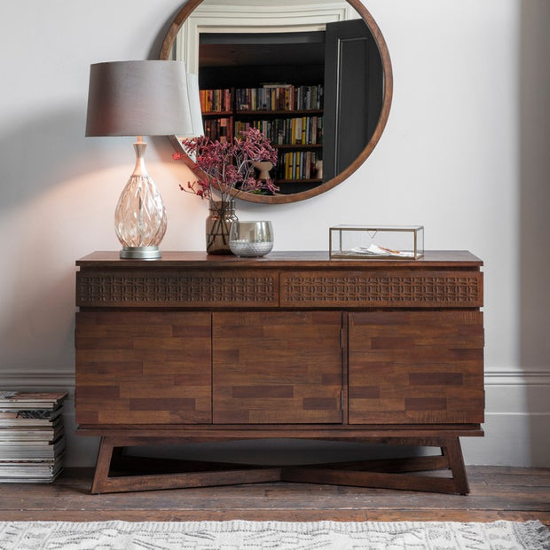 Boho Retreat 3 Door 2 Drawer Sideboard