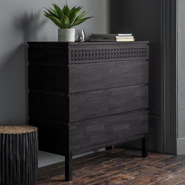 Gallery Boho Boutique 4 Drawer Chest-GalleryDirect-Olivia's