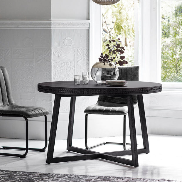 Gallery Boho Boutique Round Dining Table-GalleryDirect-Olivia's