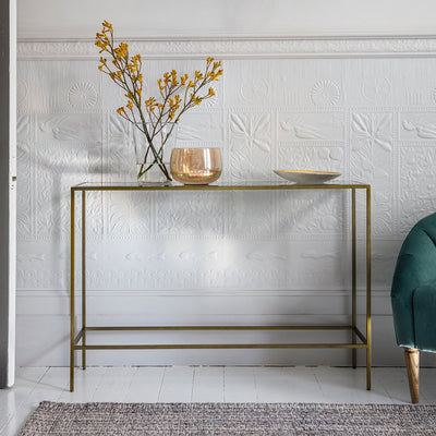 Gallery Rothbury Console Table Bronze-GalleryDirect-Olivia's