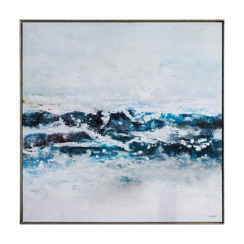 Gallery Pacific Ocean Waves Framed Art