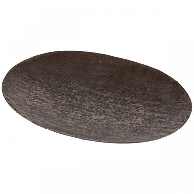 Ember Oval Shallow Platter Copper