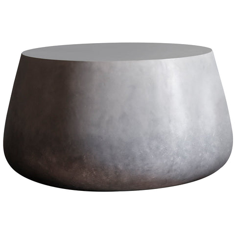 Gallery Otley Coffee Table Ombre Silver