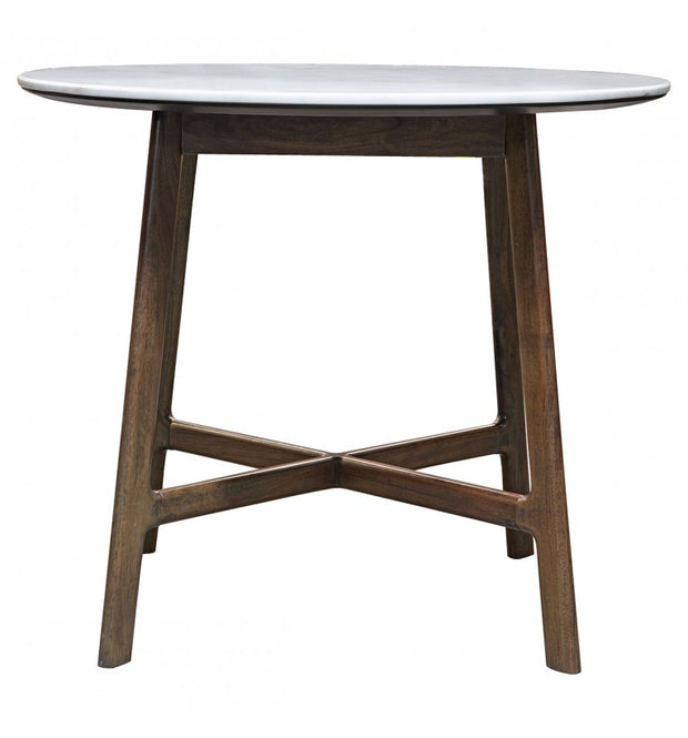 Gallery Barcelona Marble Round Dining Table