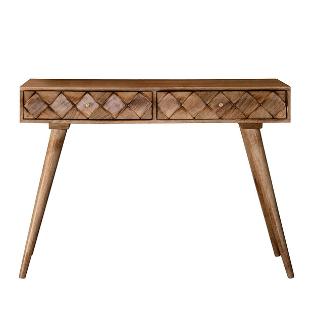 Gallery Tuscany Console Table Burnt Wax-GalleryDirect-Olivia's