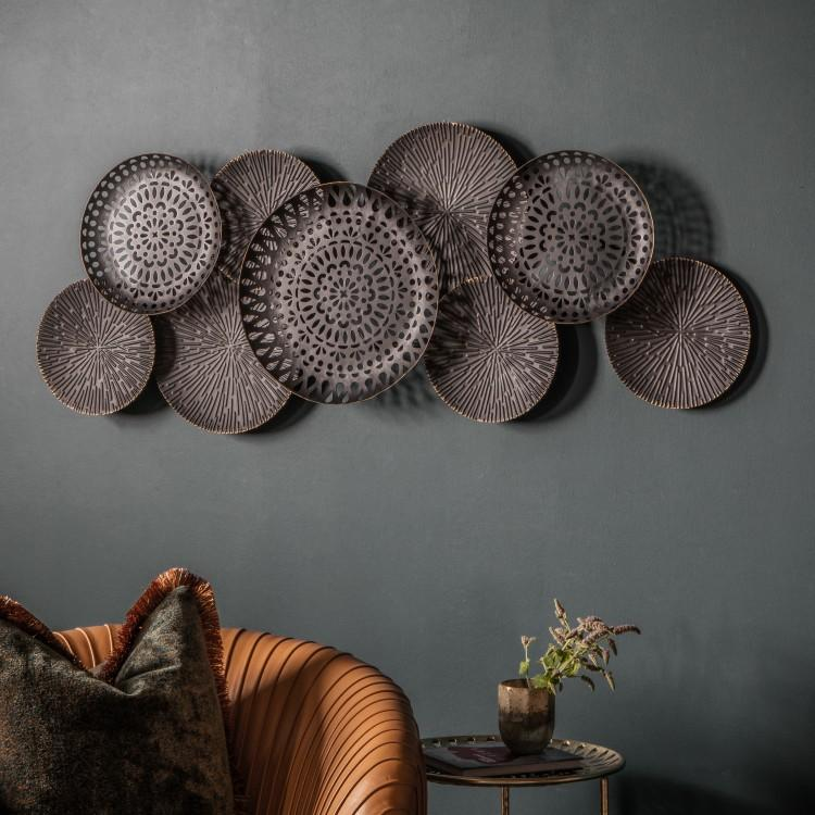 Gallery Direct Alga Metal Wall Art | Outlet
