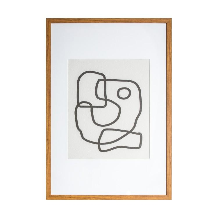 Gallery Direct Misina Line Drawing Framed Wall Art | Outlet
