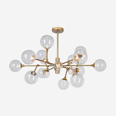 Andrew Martin Brooklyn Gold Ceiling Light