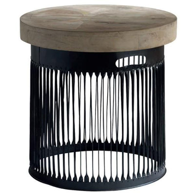 Andrew Martin Bhilai Side Table-AndrewMartin-Olivia's
