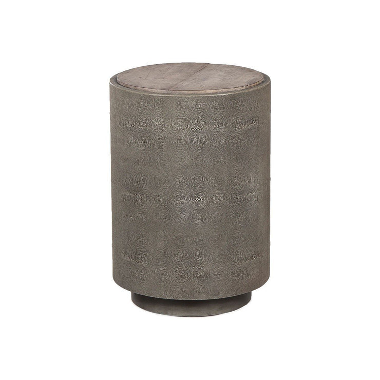Andrew Martin Shagreen Jude Side Table-AndrewMartin-Olivia's