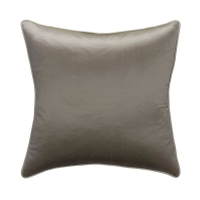 Andrew Martin Markham Silver Cushion with Ice Piping-AndrewMartin-Olivia's