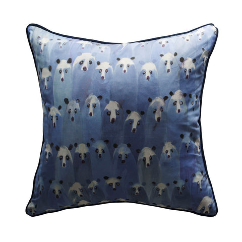 Andrew Martin Theatre Denim Cushion