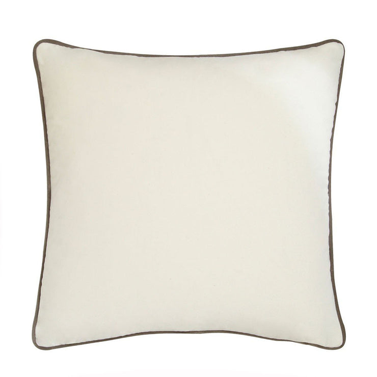 Andrew Martin Pelham Milk Cushion with Slate Piping-AndrewMartin-Olivia's