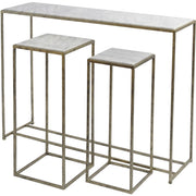 Libra UNAVAILABLE DUE TO QUALITY Libra Mylas Marble Console Table-Libra-Olivia's