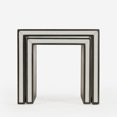 Andrew Martin Agatha Nested Side Tables-AndrewMartin-Olivia's