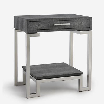 Andrew Martin Flex Side Table in Grey-AndrewMartin-Olivia's