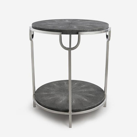 Andrew Martin Katia Grey Side Table