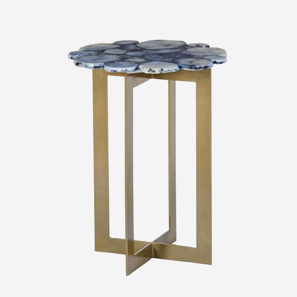 Andrew Martin Rosalie Side Table in Cobalt-AndrewMartin-Olivia's