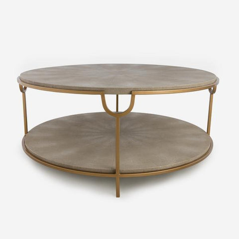 Andrew Martin Katia Coffee Table in Cream
