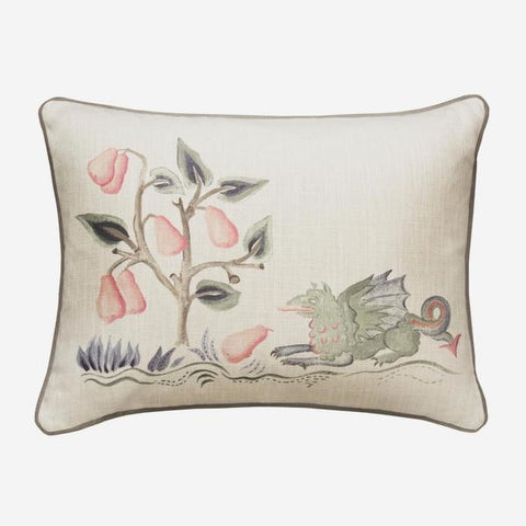 Andrew Martin Tapestry Folk Dragon Cushion