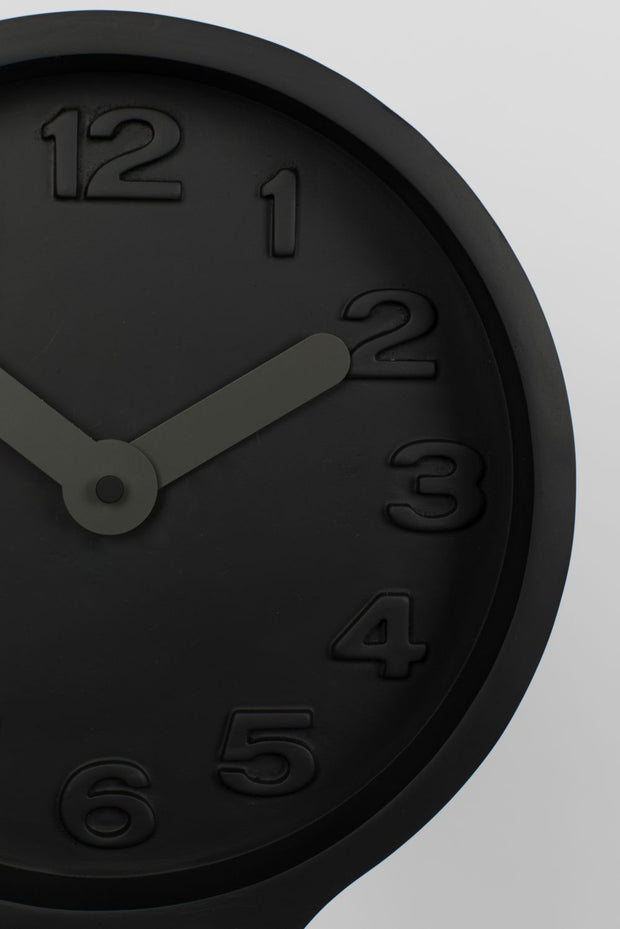 ZUIVER CLOCK GIANT BLACK
