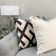 Andrew Martin Fitzroy Grey Cushion
