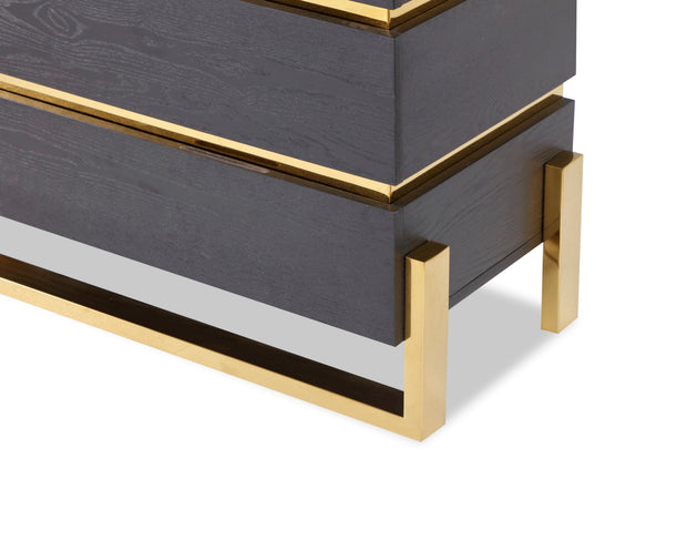Liang & Eimil Enigma Chest of Drawers Brass
