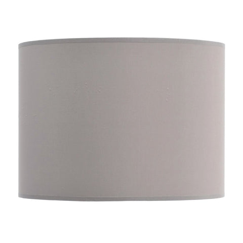 "Libra Taupe and Champagne Lined Drum 16"" Lampshade"