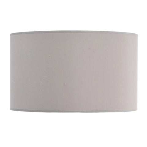 "Libra Taupe and Champagne Lined Drum 20"" Lampshade"
