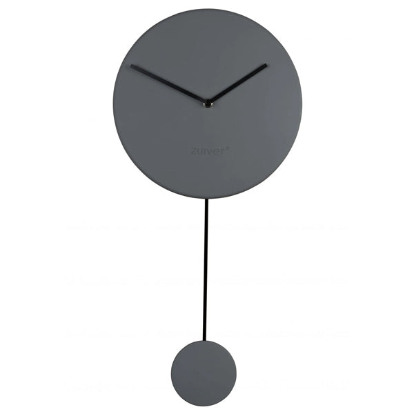 ZUIVER CLOCK MINIMAL GREY
