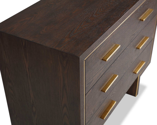 Liang & Eimil Tigur Chest of Drawers Dark Brown Ash