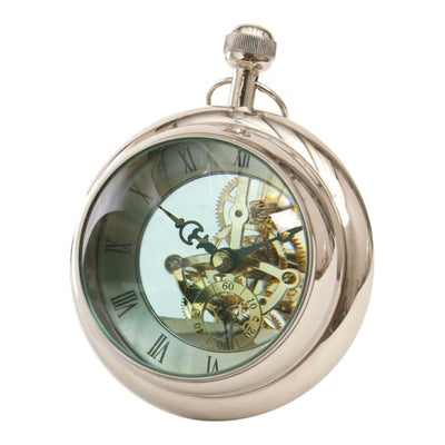 Libra Large Paperweight Clock