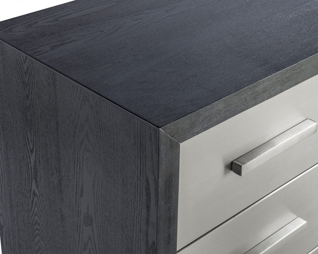 Liang & Eimil Camden Chest of Drawers Brushed Stainless Steel Handles