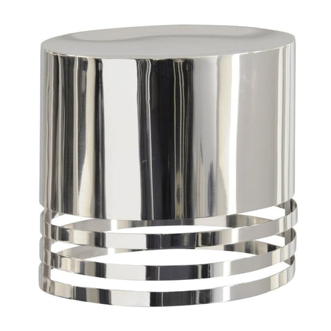 Libra Destino Duo Silver Oval Shade Wall Sconce